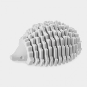 104120_B2_Card_Holder_Silicone_Hedgehog_Grey