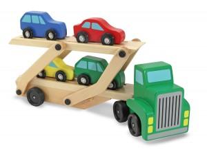 Samochód-drewniany-z-przyczepą-2