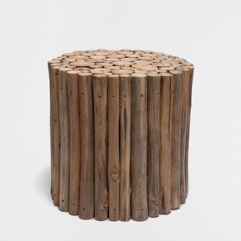 Taboret Z Drzewa Tekowego Drzewo Tekowe Sypialnia