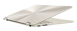ASUS ZenBook Flip_UX360CA_Icicle Gold_13mm thin and light design
